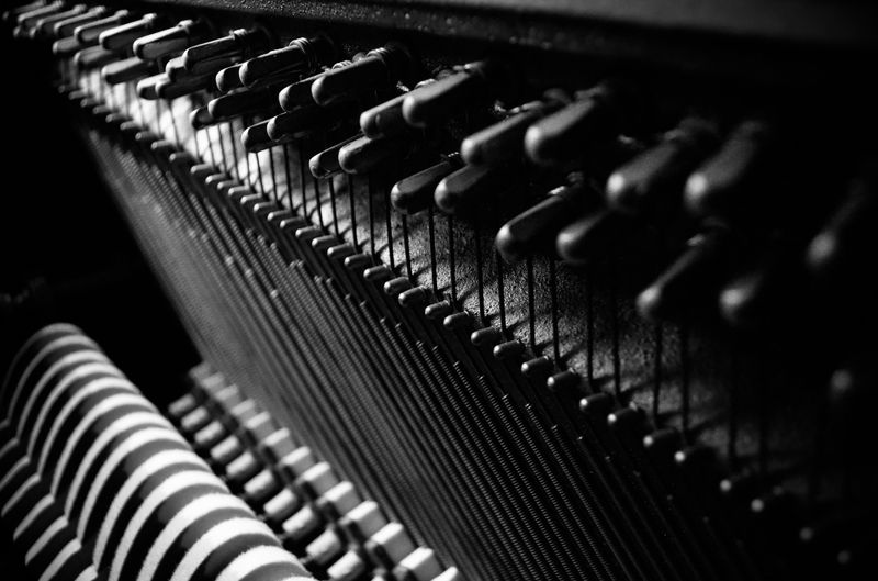 Photo of Inside a Piano