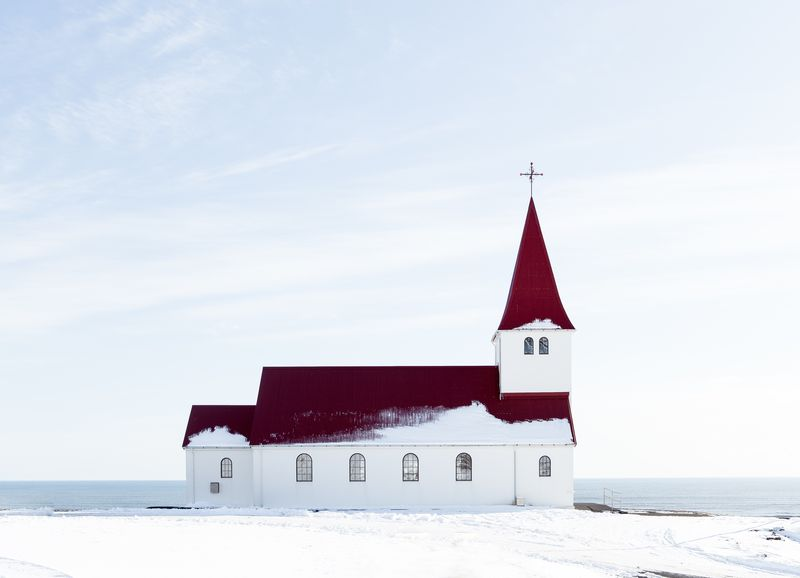 Photo of Church in the Snow