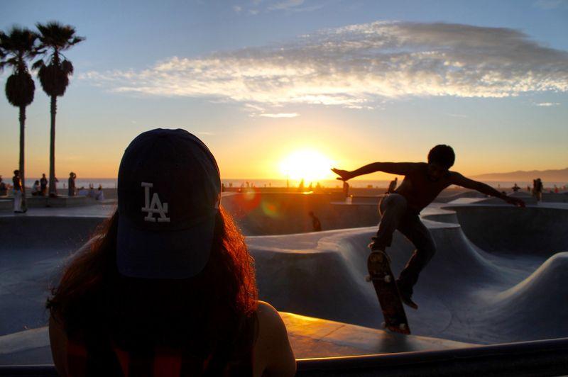 Photo of People Skateboarding