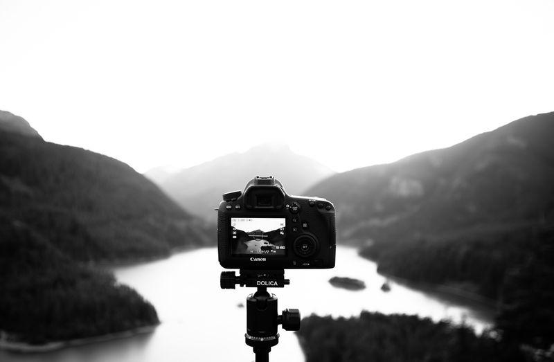 Photo of Camera Fixed on Diablo Lake