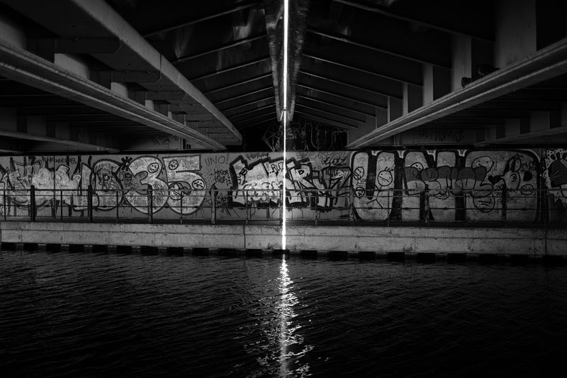 Photo of Graffiti on Wall by River
