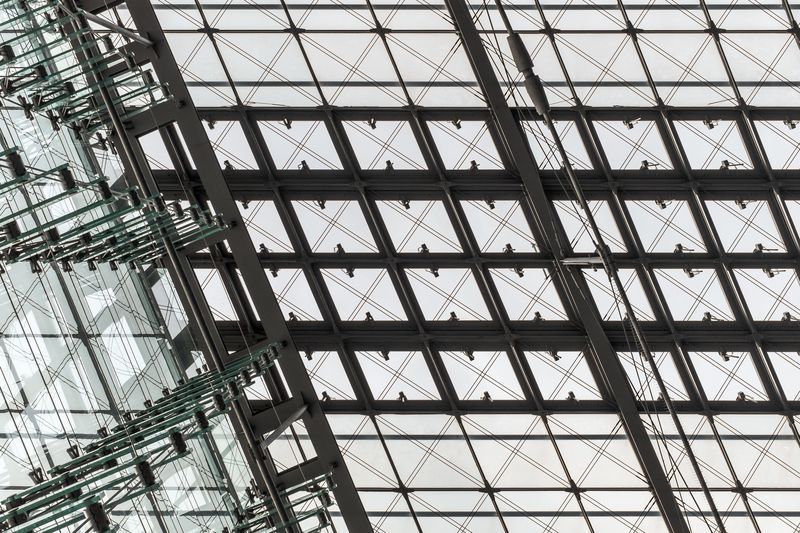 Photo of Abstract Glass Architecture