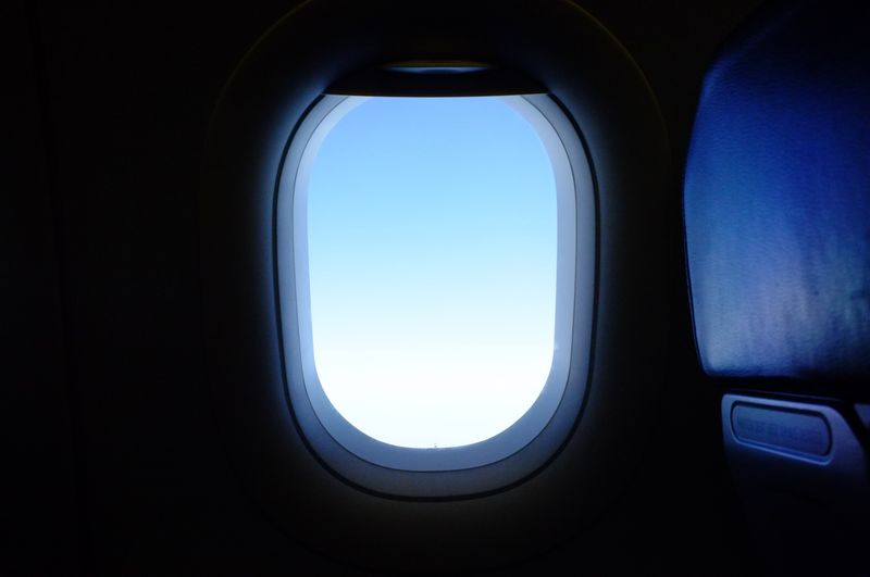 Photo of Airplane Window View