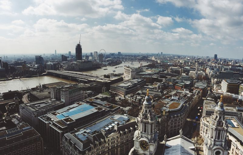Photo of Aerial Shot of London