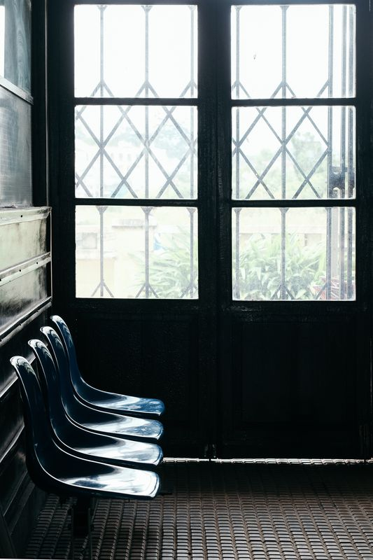 Photo of Row of Chairs by Windows