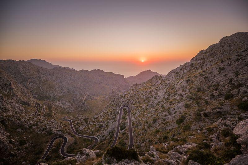 Photo of Road Through Mountains