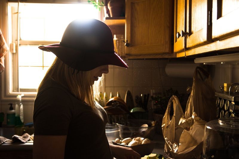 Photo of Woman in Kitchen