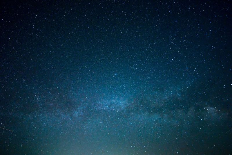 Photo of Blue Starry Sky