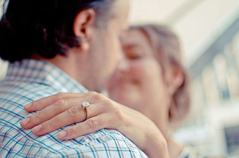 Photo of Woman's Engagement Ring