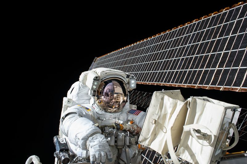 Photo of Astronaut in Space