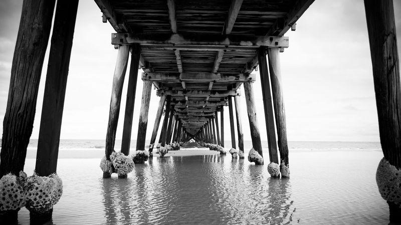 Photo of Underneath Wooden Pier