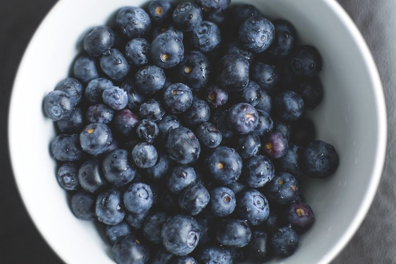 Photo of Bowl of Blueberries