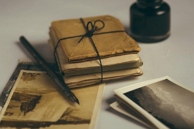 Photo of Vintage Stationery