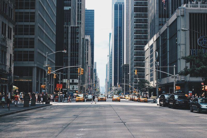 Photo of Busy Street in Manhattan