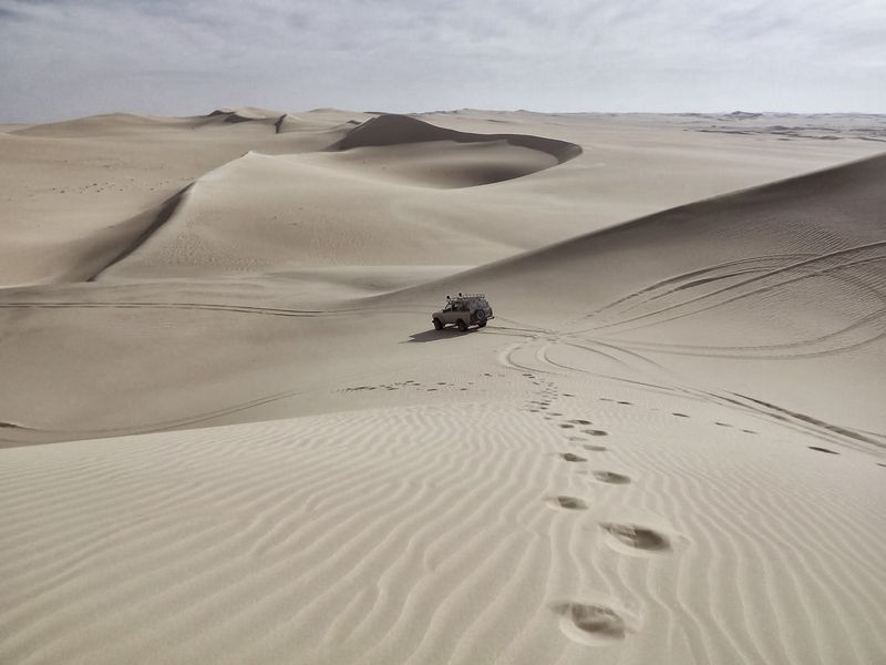 Photo of Vehicle on Sand Dunes