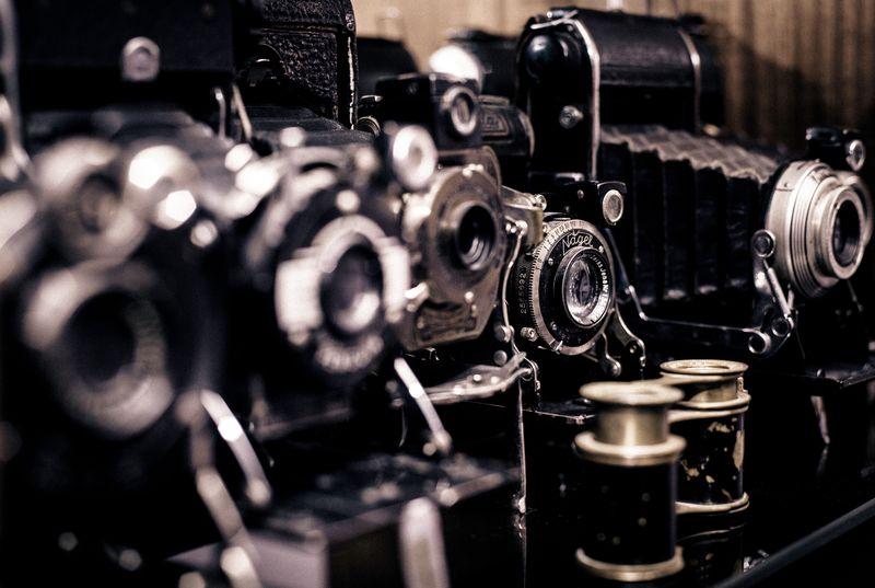 Photo of Vintage Cameras