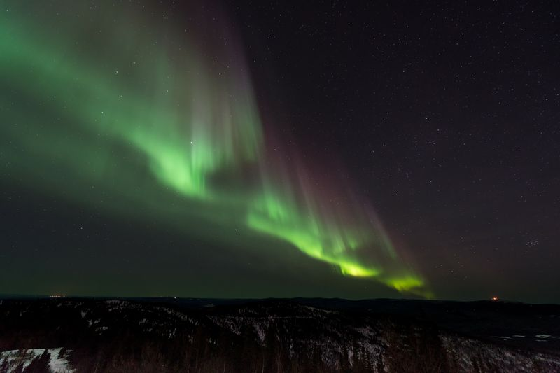 Photo of Green Aurora Borealis