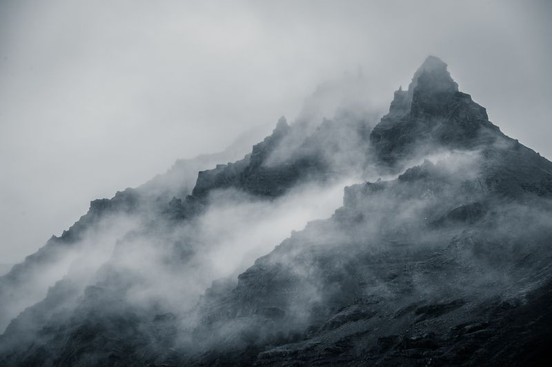 Photo of Cloudy Mountains