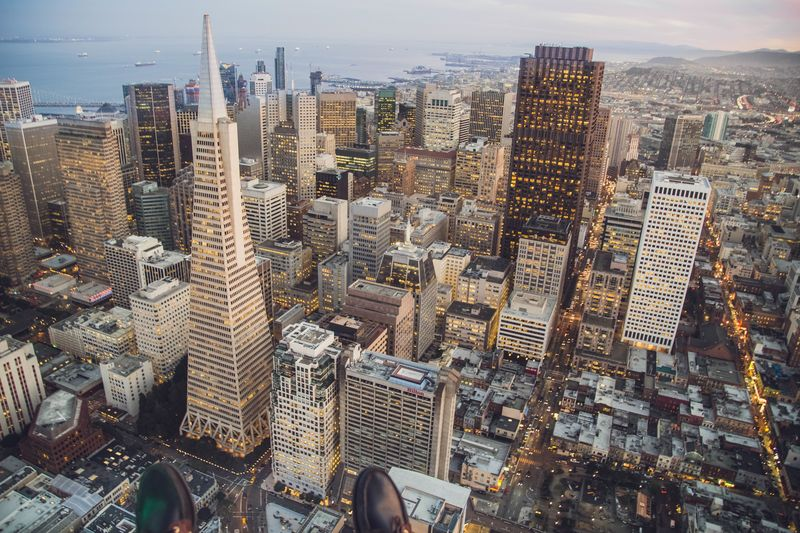 Photo of Downtown San Francisco Bird's Eye View