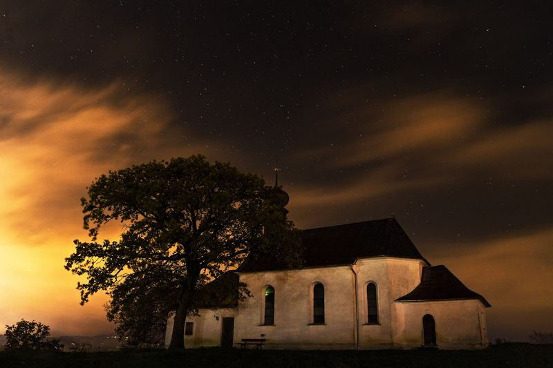 Photo of Historic Church at Night