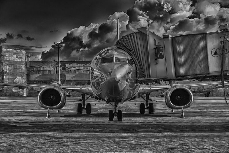 Photo of Loading an Airplane
