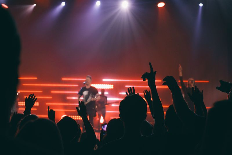 Photo of Concert Crowd
