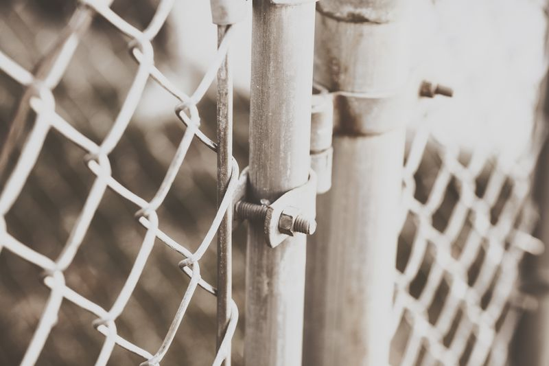 Photo of Chain Link Gate and Fence