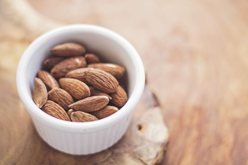 Photo of Bowl of Salted Almonds
