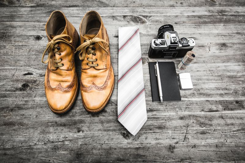 Photo of Clothes and Camera