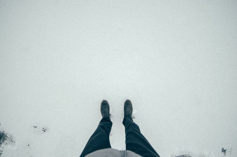 Photo of Person in Snow