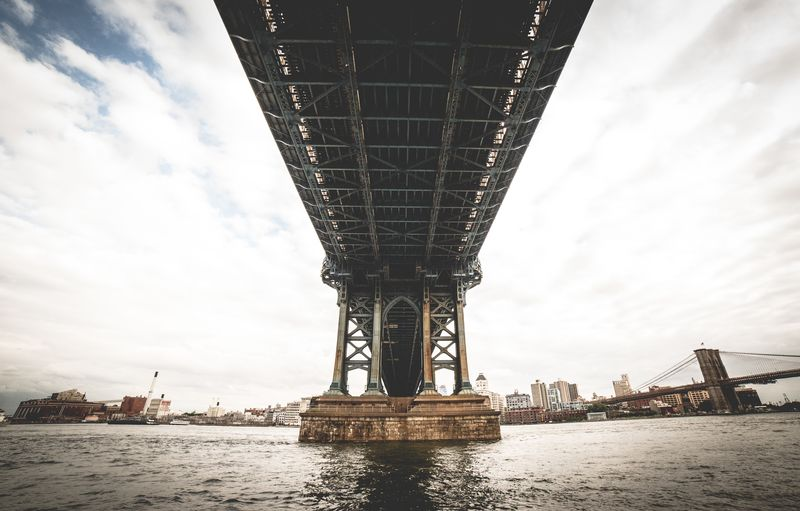 Photo of Underneath Manhattan Bridge