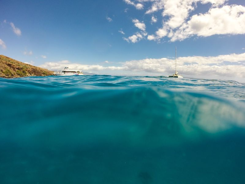 Photo of Boats in Ocean