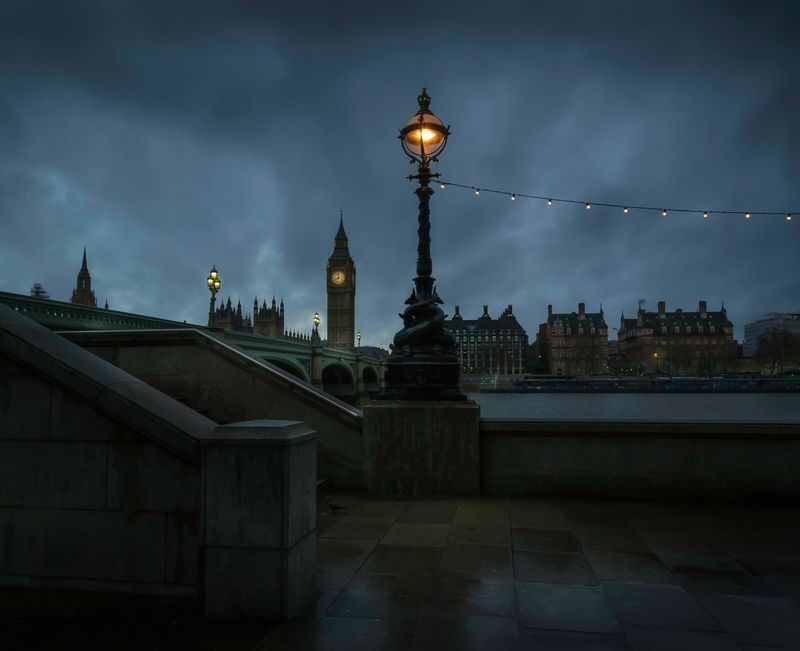 Photo of Overcast London Sky