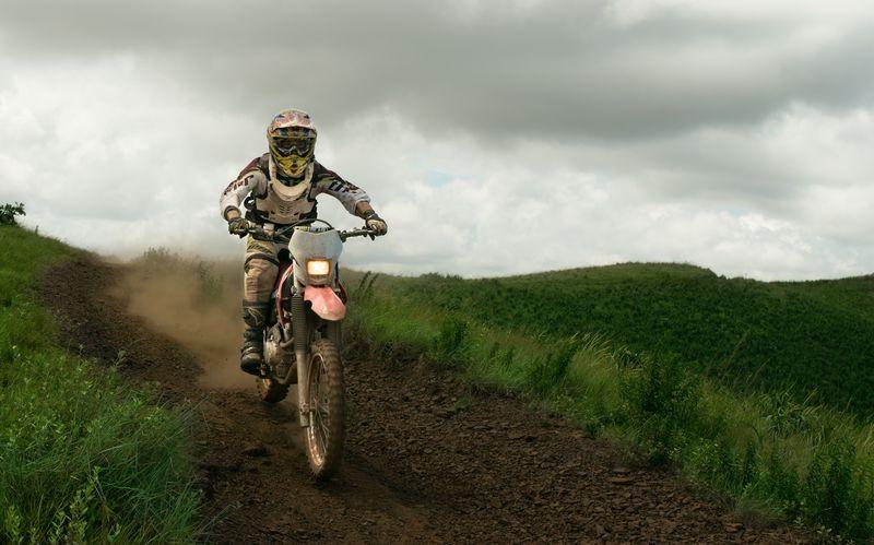 Photo of Dirt Bike Racer