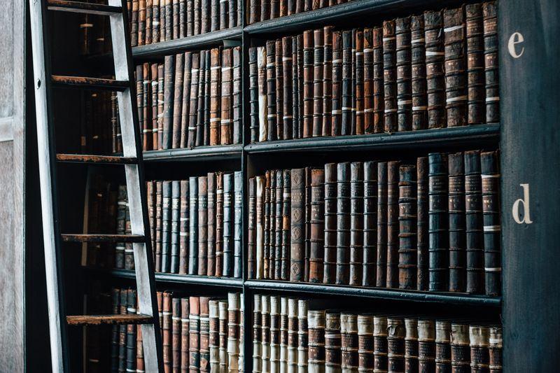 Photo of Bookshelf Full of Books
