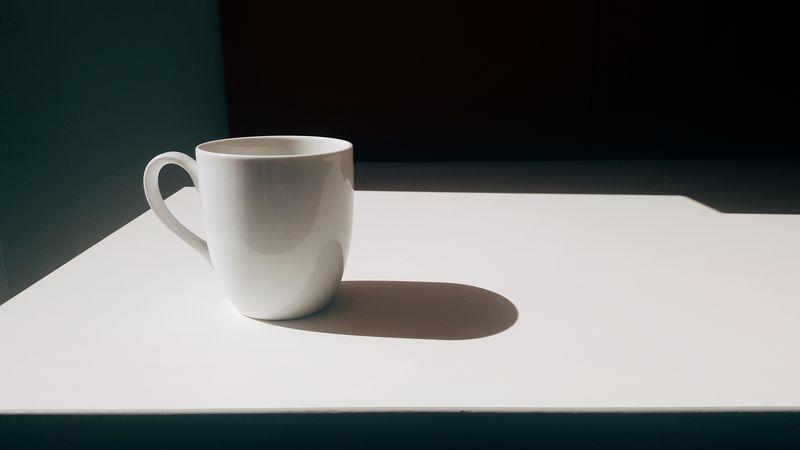 Photo of White Mug on White Table