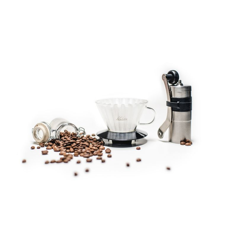 Photo of Coffee Beans, Press, and Pot