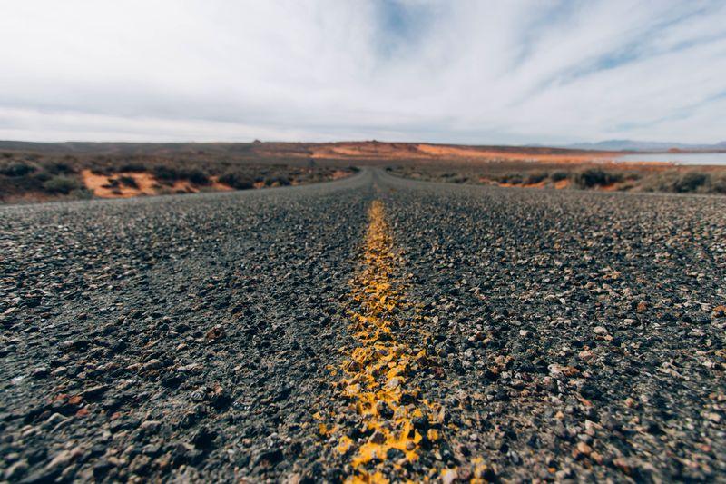 Photo of Highway in Desert