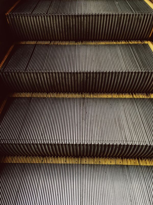Photo of Escalator Steps