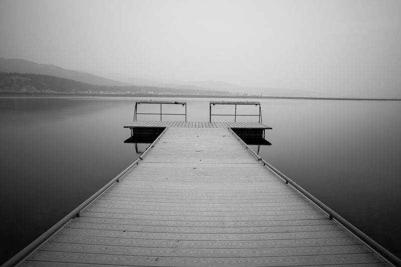 Photo of Wooden Dock on Lake