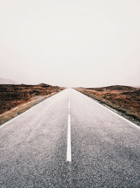Photo of Open Road and Hills