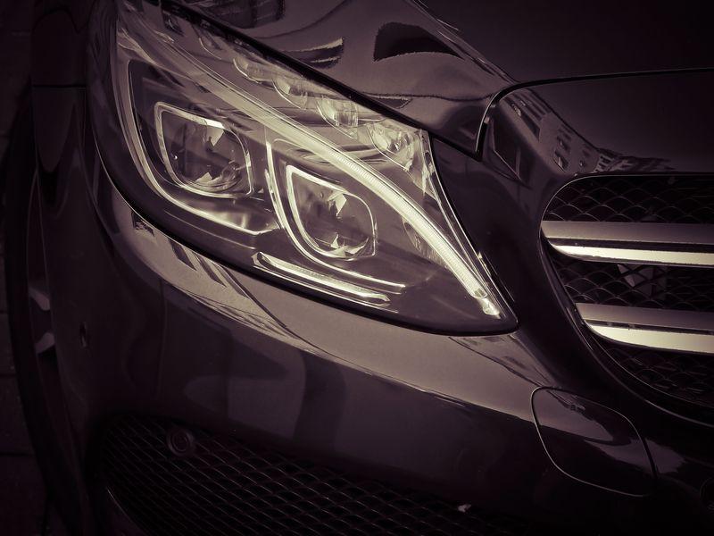 Photo of Car Headlight