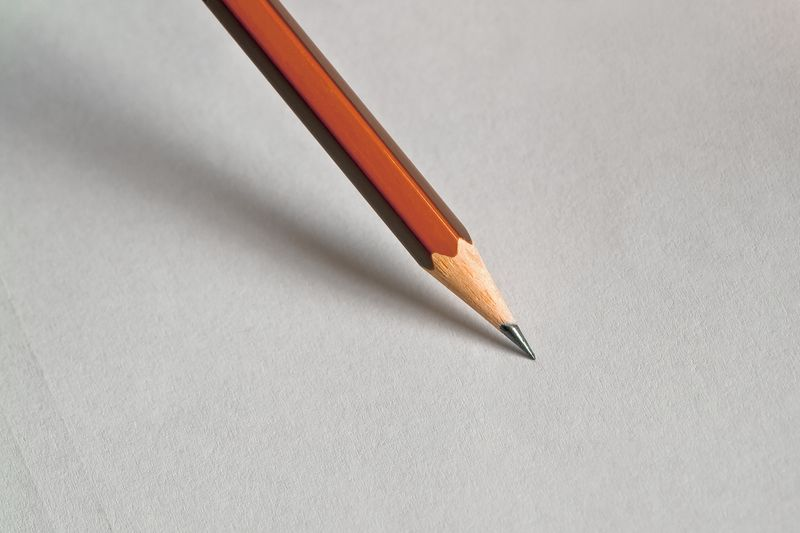 Photo of Pencil on Paper