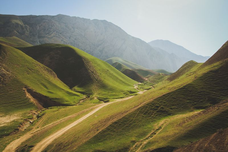 Photo of Dirt Roads Through the Hills of Afghanistan