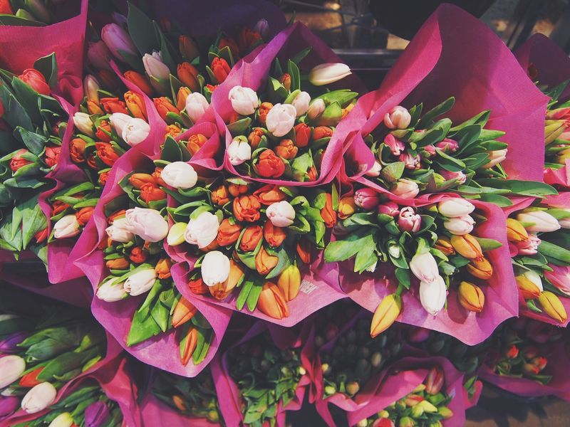 Photo of Bouquets of Tulips