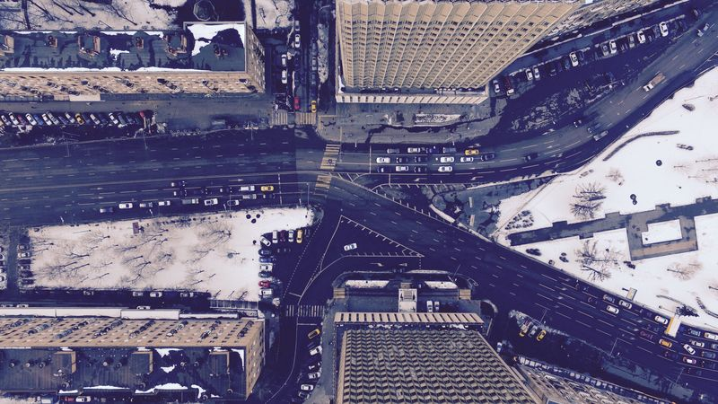 Photo of Moscow Streets Aerial