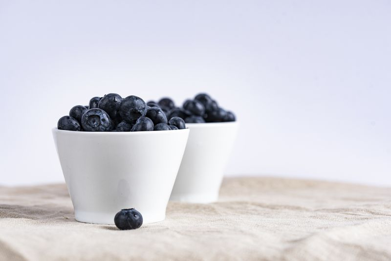Photo of Bowls of Blueberries