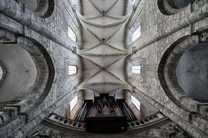 Photo of Pipe Organ at Historic Church
