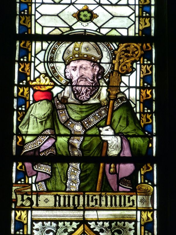 Photo of Augustine Stained Glass