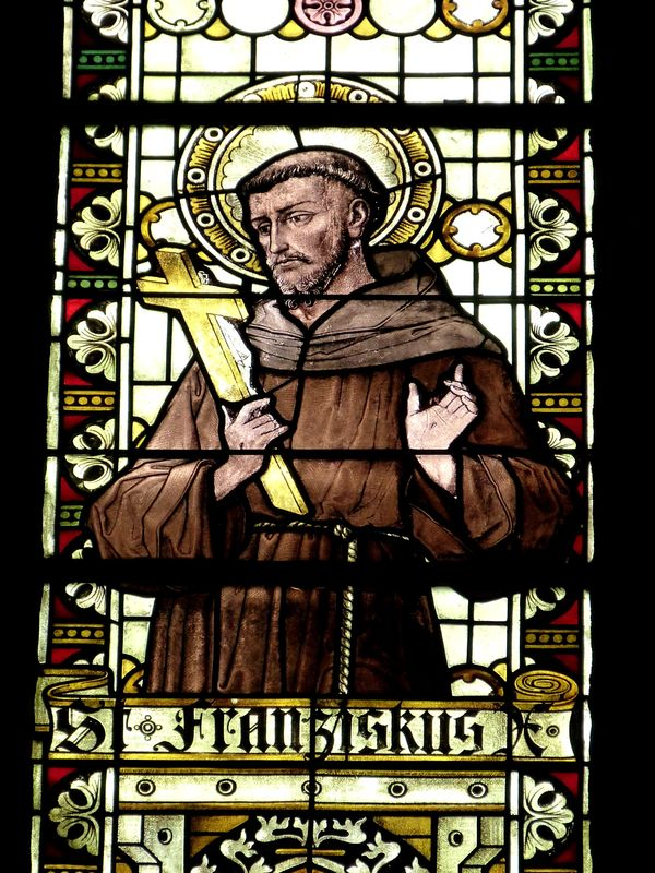 Photo of Franciscan Stained Glass